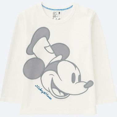 TODDLER DISNEY COLLECTION LONG-SLEEVE CREWNECK T, OFF WHITE, medium