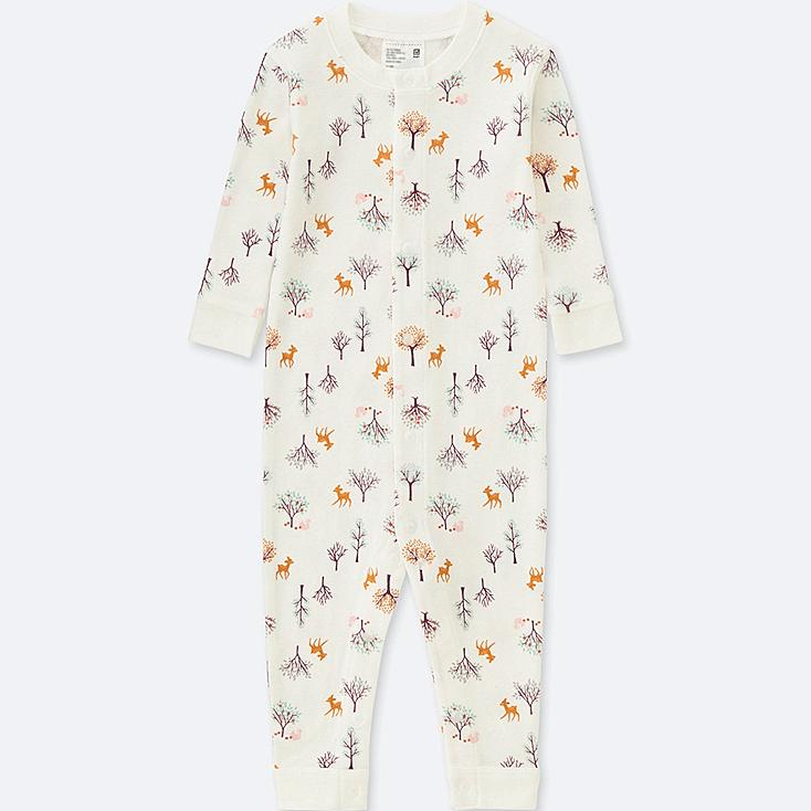 BABY LONG-SLEEVE ONE PIECE OUTFIT, OFF WHITE, large