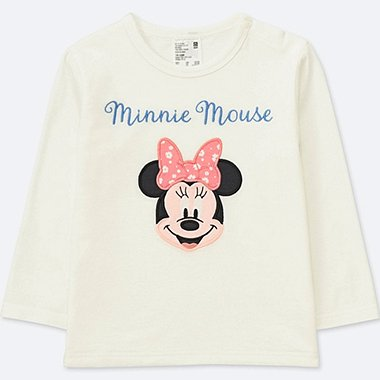 TODDLER DISNEY TEXTILE CREWNECK LONG-SLEEVE T-SHIRT, OFF WHITE, medium