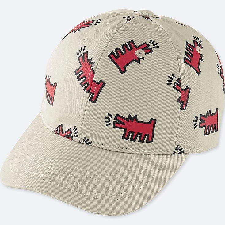 SPRZ NY CAP (KEITH HARING), LIGHT GRAY, large