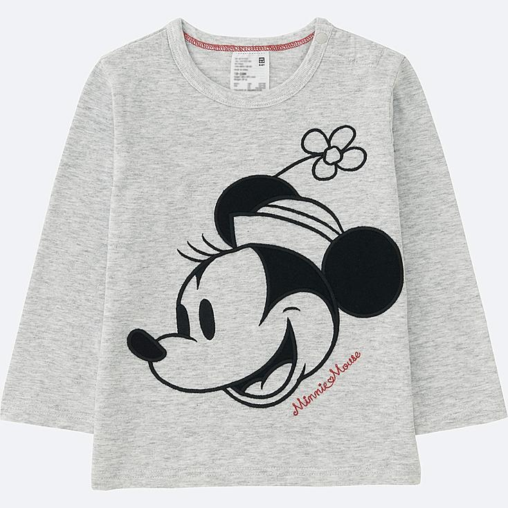 TODDLER DISNEY COLLECTION LONG-SLEEVE CREWNECK T, LIGHT GRAY, large