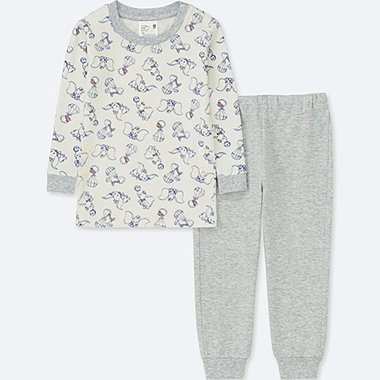 TODDLER DISNEY COLLECTION  LONG-SLEEVE PAJAMAS, LIGHT GRAY, medium