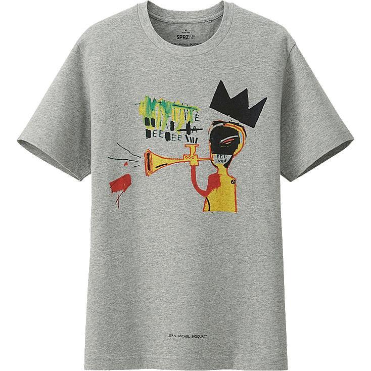 Uniqlo men 39 s sprz ny graphic t shirt jean michel basquiat for Uniqlo t shirt sizing