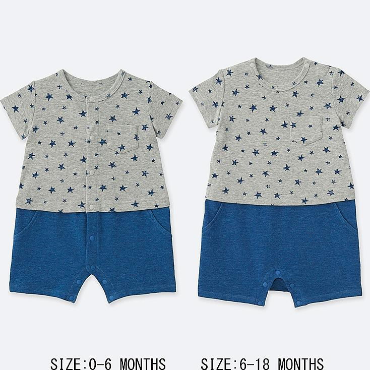 NEWBORN COORDINATED SHORT ALL, GRAY, large