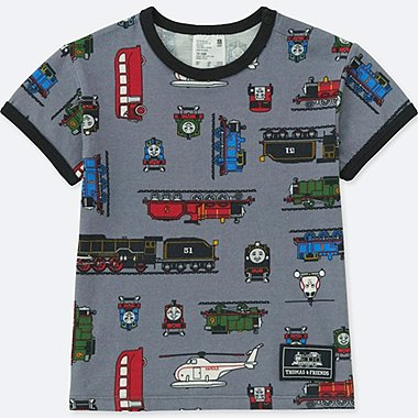 Toddler Short Sleeve T Shirt (Thomas & Friends), DARK GRAY, medium
