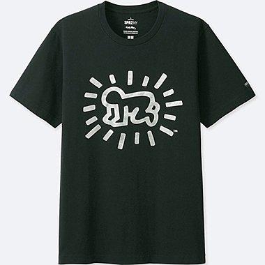 MEN SPRZ NY K.HARING SHORT SLEEVE GRAPHIC T-SHIRT, BLACK, medium