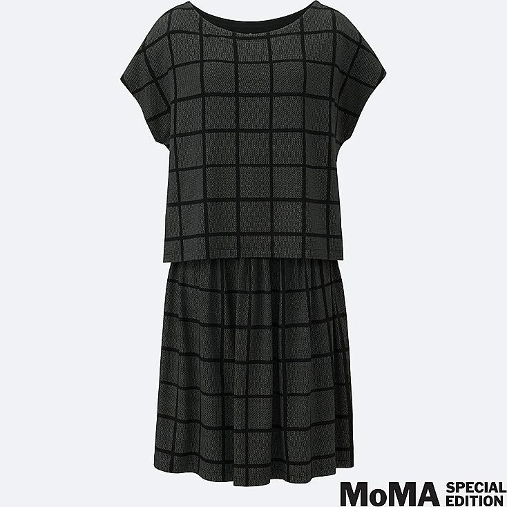 WOMEN SPRZ NY LAYERED DRESS (FRANCOIS MORELLET), BLACK, large