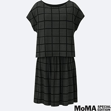 WOMEN SPRZ NY LAYERED DRESS (FRANCOIS MORELLET), BLACK, medium