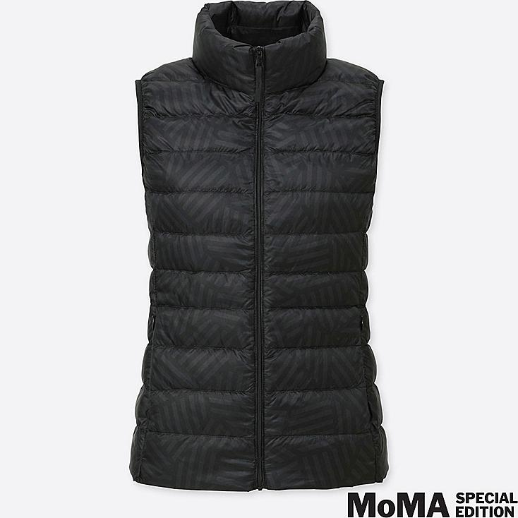 WOMEN SPRZ NY SOL LEWITT ULTRA LIGHT DOWN VEST, BLACK, large