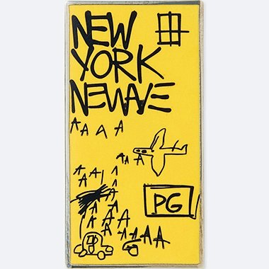 SPRZ NY PIN (JEAN-MICHEL BASQUIAT), BLACK, medium