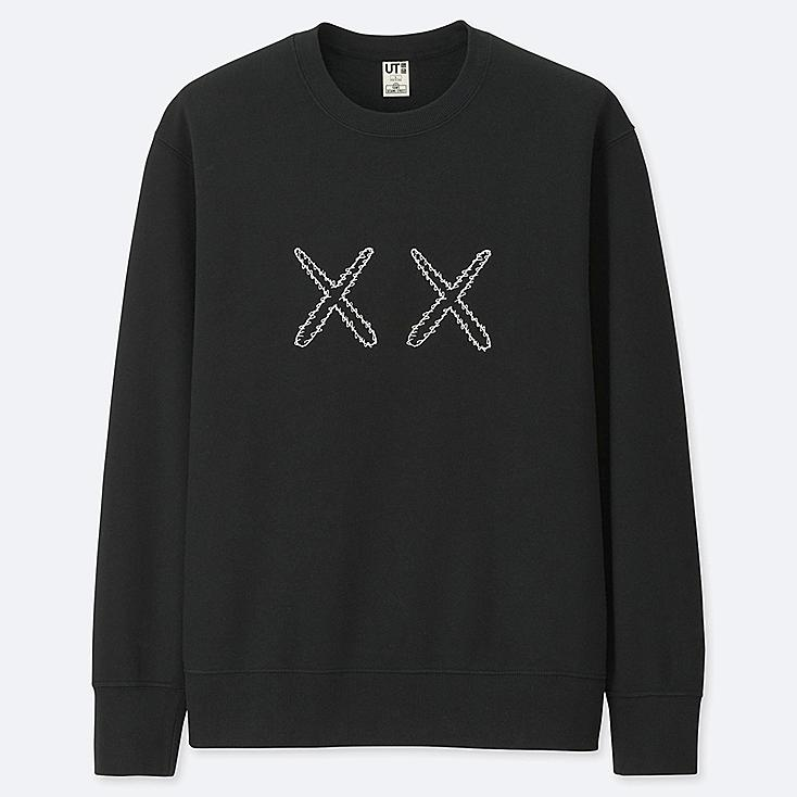 KAWS X SESAME STREET SWEATSHIRT, BLACK, large