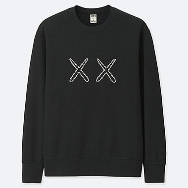 KAWS X SESAME STREET SWEATSHIRT, BLACK, medium