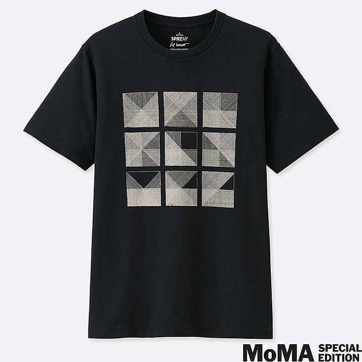 MEN SPRZ NY SHORT-SLEEVE GRAPHIC T-SHIRT (SOL LEWITT), BLACK, large
