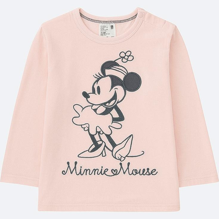 TODDLER DISNEY COLLECTION LONG-SLEEVE CREWNECK T, PINK, large