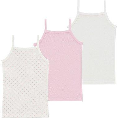 Toddler Mesh Camisole, 3-Pack, PINK, medium