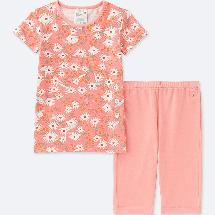 TODDLER (ÉPICE COLLECTION)  SHORT-SLEEVE PAJAMAS, PINK, large