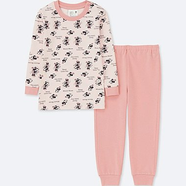 TODDLER DISNEY COLLECTION  LONG-SLEEVE PAJAMAS, PINK, medium