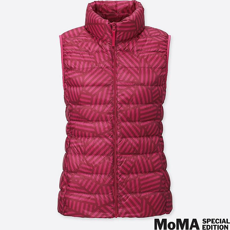 WOMEN SPRZ NY SOL LEWITT ULTRA LIGHT DOWN VEST, RED, large