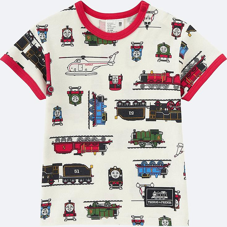 Toddler Short Sleeve T Shirt (Thomas & Friends), RED, large