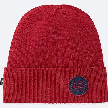 MEN SPRZ NY KNITTED CAP, RED, medium