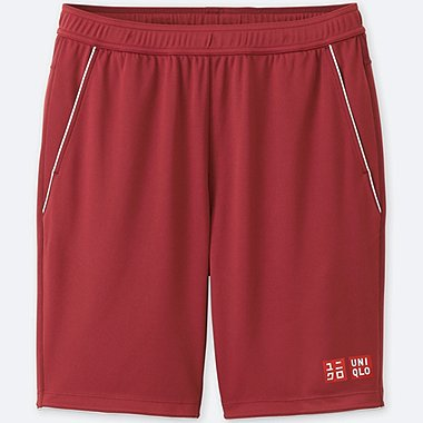 MEN DRY SHORTS (ROGER FEDERER), RED, medium