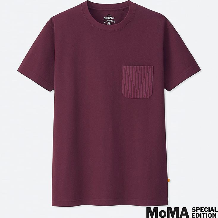SPRZ NY BARRY MCGEE GRAPHIC T-SHIRT, WINE, large