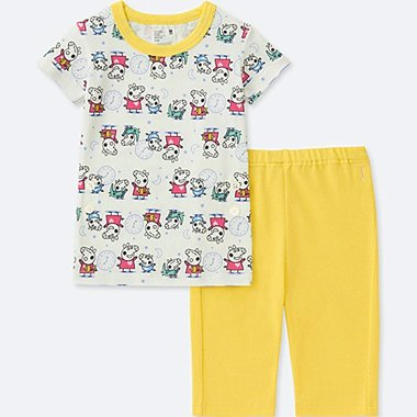 TODDLER PEPPA PIG SHORT-SLEEVE DRY PAJAMAS, YELLOW, medium