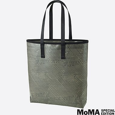 SPRZ NY SUPER GEOMETRIC TOTE BAG (Gego), GREEN, medium