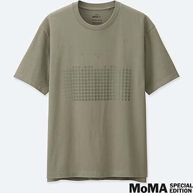 MEN SPRZ NY  GRAPHIC T-SHIRT (Josef Albers), GREEN, medium