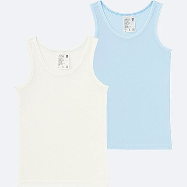 TODDLER AIRISM MESH TANK TOP 2-PACK, LIGHT BLUE, medium
