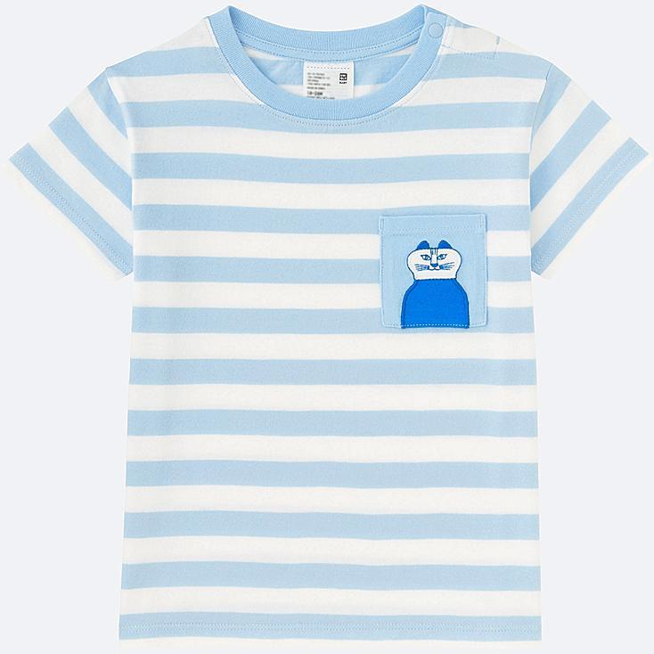 TODDLER LISA LARSON SHORT-SLEEVE T-SHIRT, BLUE, large