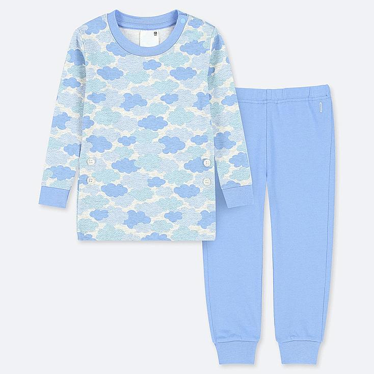 TODDLER LONG-SLEEVE PAJAMAS, BLUE, large