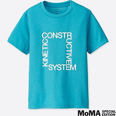 KIDS SPRZ NY DRY-EX SHORT-SLEEVE T-SHIRT (EXPERIMENTAL JETSET), BLUE, medium