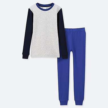 BOYS ULTRA STRETCH SWEAT SET, BLUE, medium