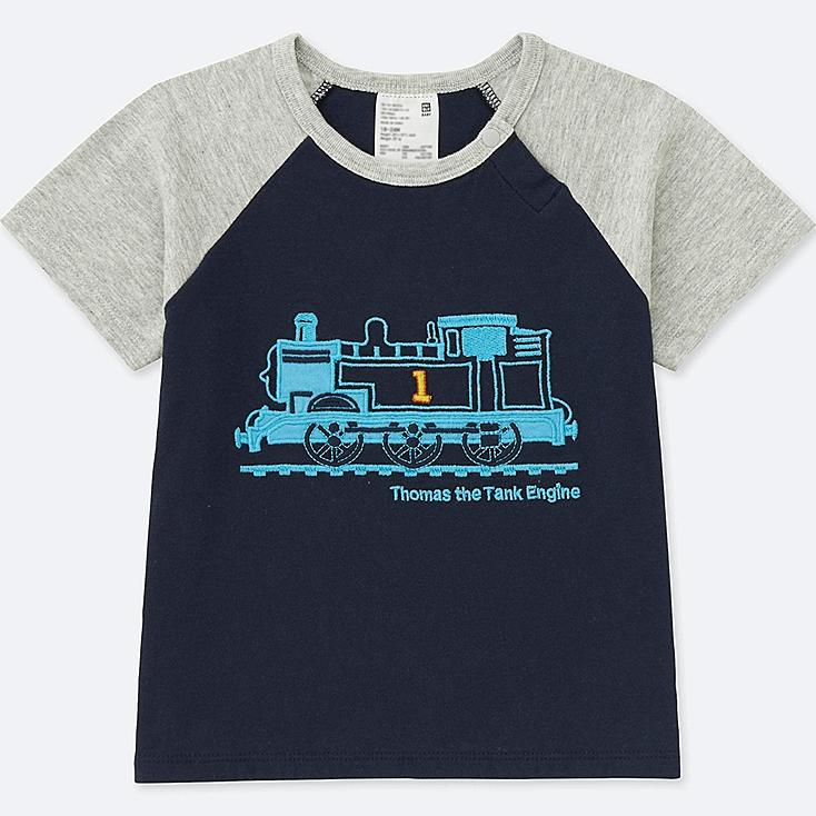 Toddler Short Sleeve T Shirt (Thomas & Friends), NAVY, large