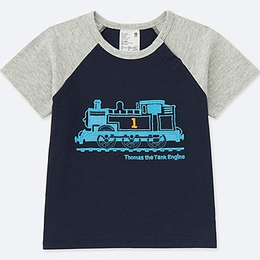 Toddler Short Sleeve T Shirt (Thomas & Friends), NAVY, medium