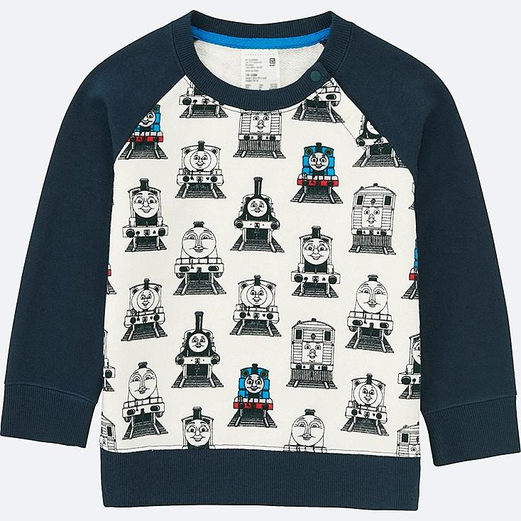 TODDLER THOMAS & FRIENDS LONG SLEEVE PULLOVER, NAVY, large