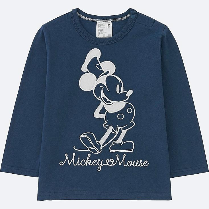 TODDLER DISNEY COLLECTION LONG-SLEEVE CREWNECK T, NAVY, large