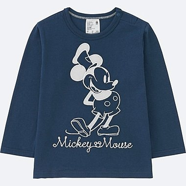 TODDLER DISNEY COLLECTION LONG-SLEEVE CREWNECK T, NAVY, medium