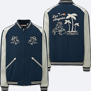 mickey travels souvenir jacket