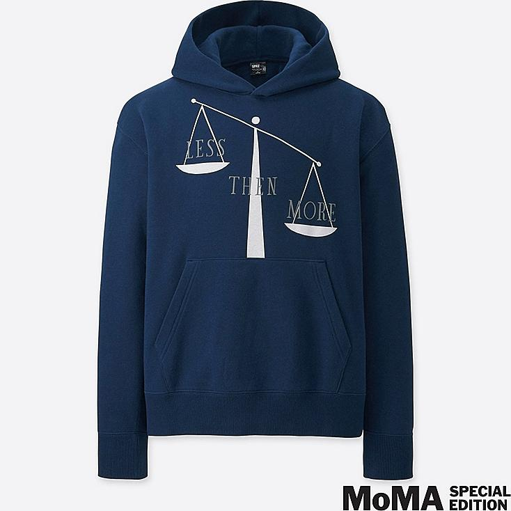 MEN SPRZ NY GRAPHIC HOODIE (MATTHEW BRANNON), NAVY, large