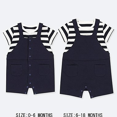 NEWBORN COORDINATED SHORT ALL, NAVY, medium