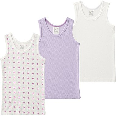 Toddler Mesh Tank Top Undershirt, 3 Pack, LIGHT PURPLE, medium