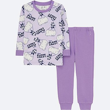 TODDLER DISNEY COLLECTION LONG-SLEEVE PAJAMAS, LIGHT PURPLE, medium