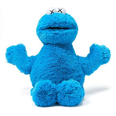 KAWS X SESAME STREET TOY (COOKIE MONSTER), Other, medium