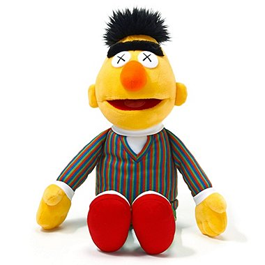 KAWS X SESAME STREET TOY (BERT), Other, medium